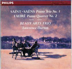 Trio nº1 en Fa Maj op 18 pour piano violon et violoncelle  : IV. Allegro - BEAUX ARTS TRIO