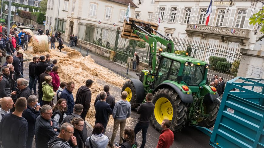 Manifestation FDSEA Vesoul.