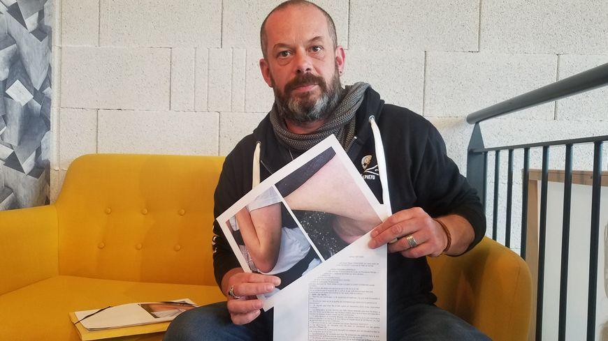 Une plainte pour violence aggravée sur personne vulnérable déposée contre l'IME de Saint-Chamond. Olivier est allé porter plainte.