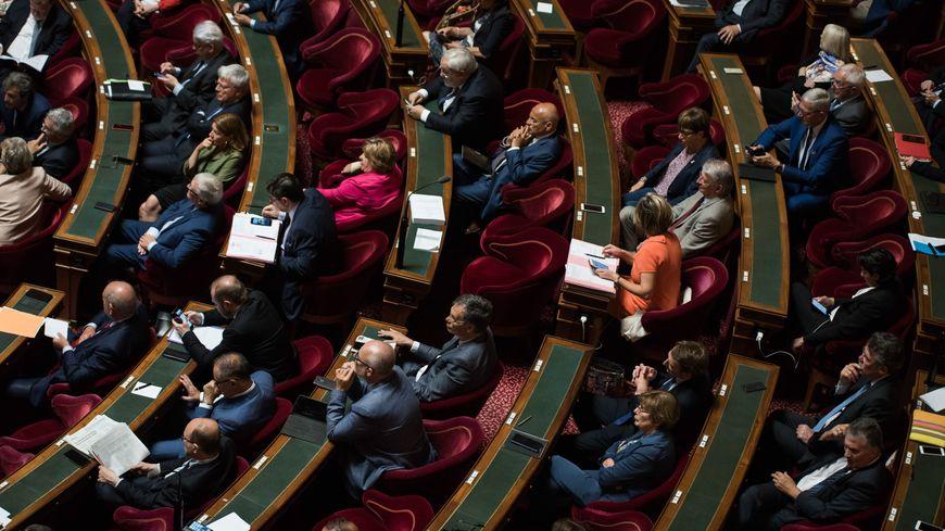 Les sénateurs lors d'une séance de questions au gouvernement.