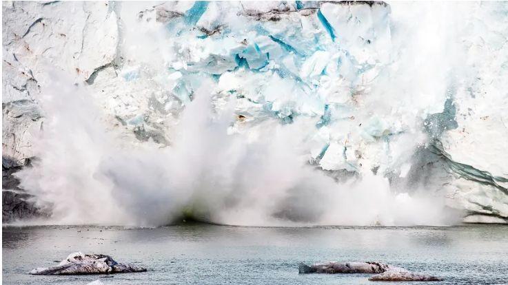 Le glacier qui s'est détaché est gros comme quinze fois la ville de Paris.