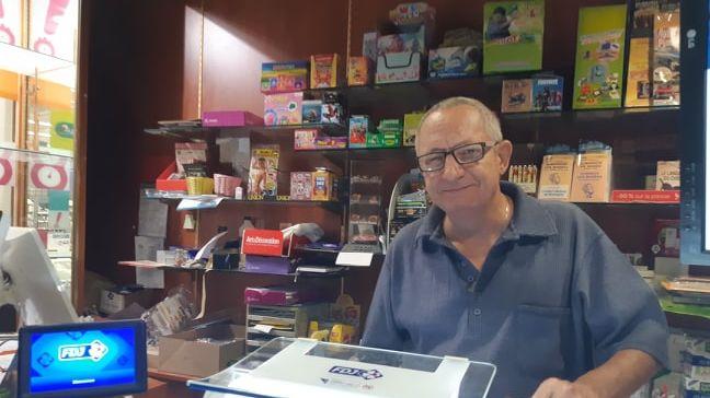 Yvan Bertin, le gérant de la Presse de la baie à Yffiniac