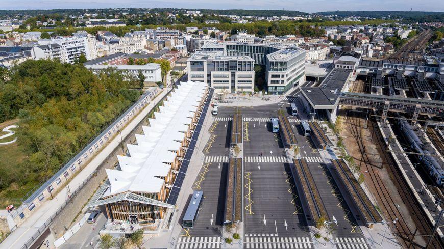 Le nouveau quartier des Chantiers à Versailles.