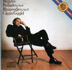 Ballades op 10 pour piano : Ballade nº2 en Ré Maj - GLENN GOULD