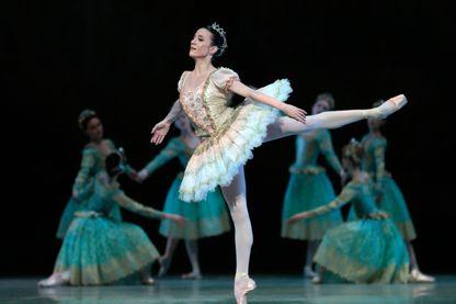 Ludmila Pagliero (ici dans le rôle de la Belle au bois dormant, à l'Opéra de Bastille en 2013)