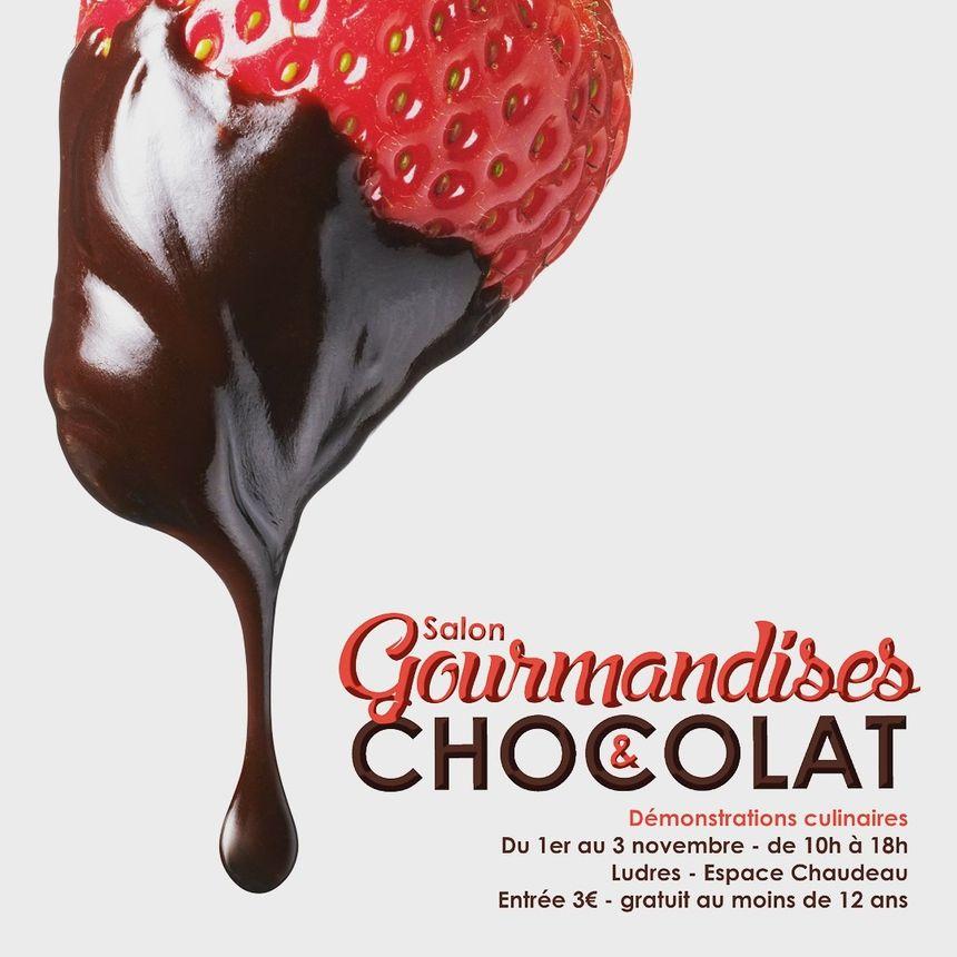 affiche du salon Gourmandise et chocolat de Ludres
