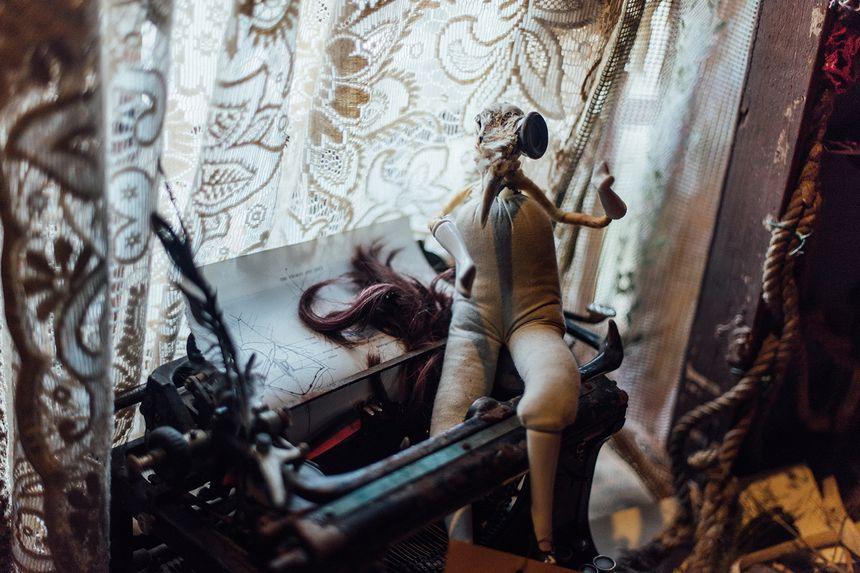 Le bureau des curiosités de l''artiste Tracey Picapica