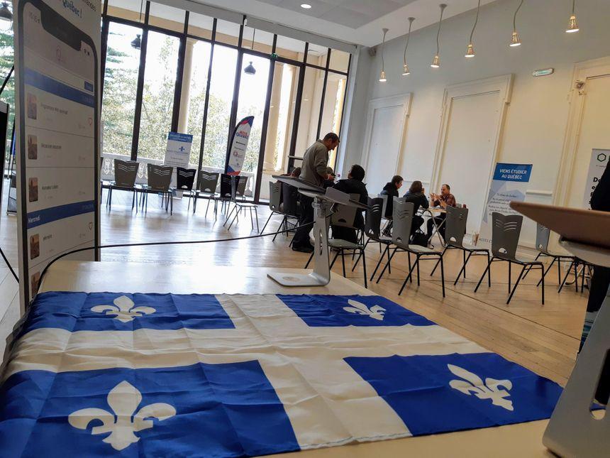 Le Québec s'est invité en Béarn ce mercredi, au pavillon des Arts à Pau.
