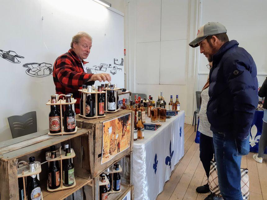 Des produits du Québec ont aussi été présentés.