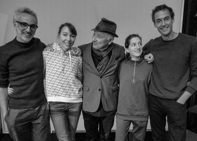 Vincent Delerm, Jeanne Cherhal, Claudi Nori, Aloïse Sauvage et Emmanuel Noblet