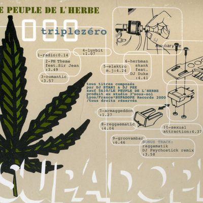 """Pochette pour """"Armageddon - LE PEUPLE DE L'HERBE"""""""