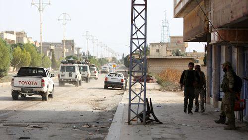 Les troupes kurdes quittent Ras Al Aïn