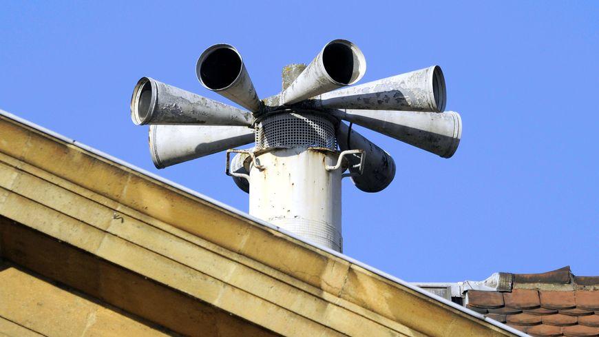 Une sirène d'alerte de la population (image d'illustration)