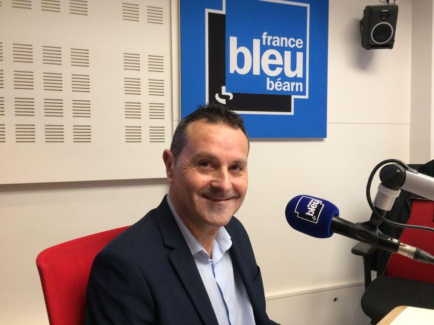 Patrice Laurent, maire sortant de Mourenx.