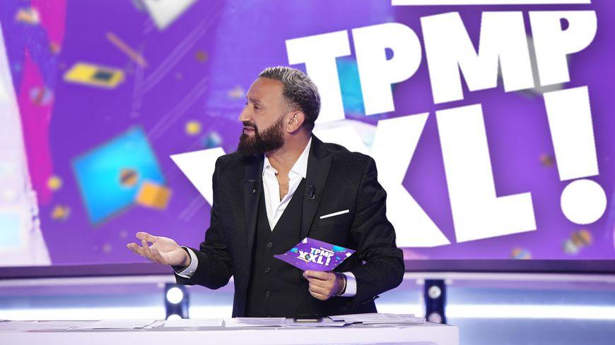 Cyril Hanouna qui présente l'émission Touche pas à mon poste, dite TPMP