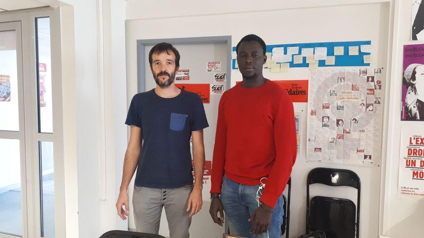 Moustpha Gueye et Julien Frayssinhes