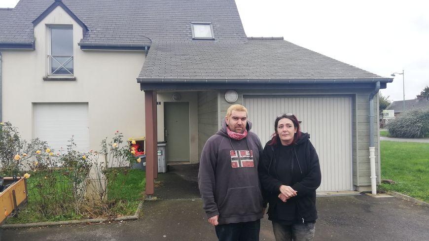 Johanna et Sylvain habitaient avec leurs deux enfants depuis 11 ans dans ce logement HLM