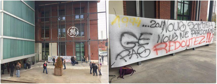Le vote a eu lieu dans le bâtiment T5 du site de GE ce lundi matin.
