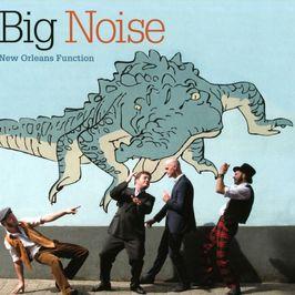 """Pochette de l'album """"New Orleans function"""" par Big Noise"""