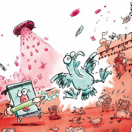L'affiche de Quai des Bulles 2019 dessinée par Marion Montaigne