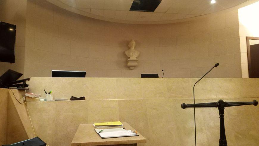 Salle d'audience du tribunal correctionnel d'Orléans