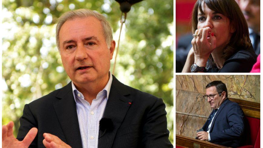 Jean-Luc Moudenc va devoir maintenant négocier les places avec Laurence Arribagé (LR) et jean-François Portarrieu (LREM)