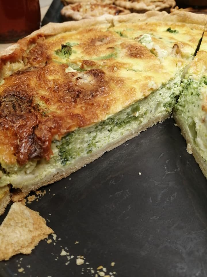 Tarte broccoli gorgonzola