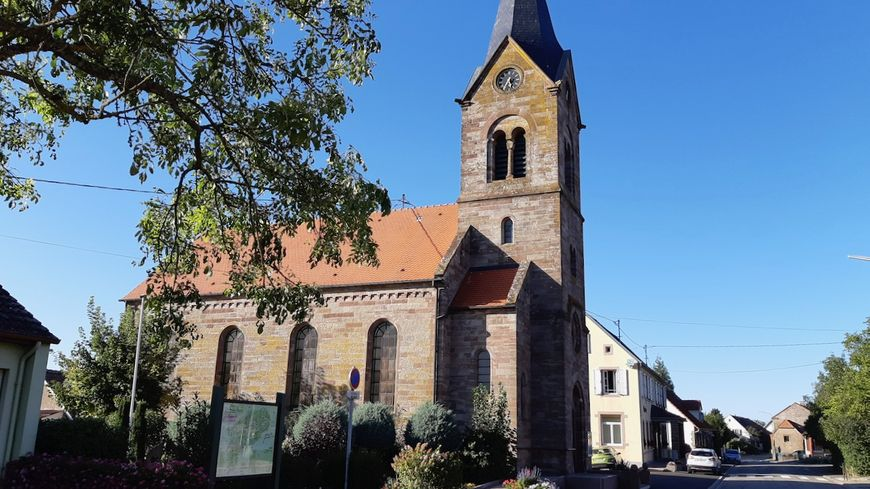 Struth, l'église protestante
