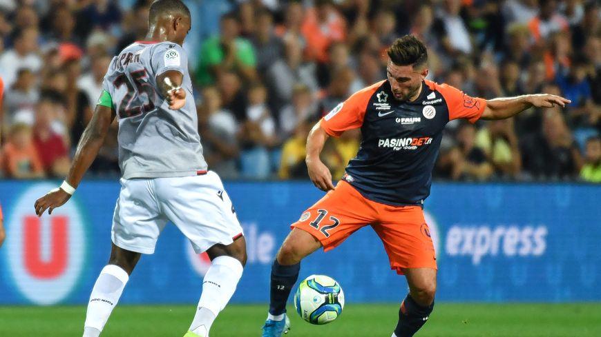 Jordan Ferri (à droite) était très en vue depuis le début de saison avec Montpellier