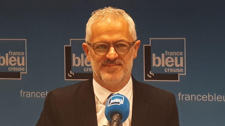 Eric Corréia, président de l'agglo du Grand Guéret
