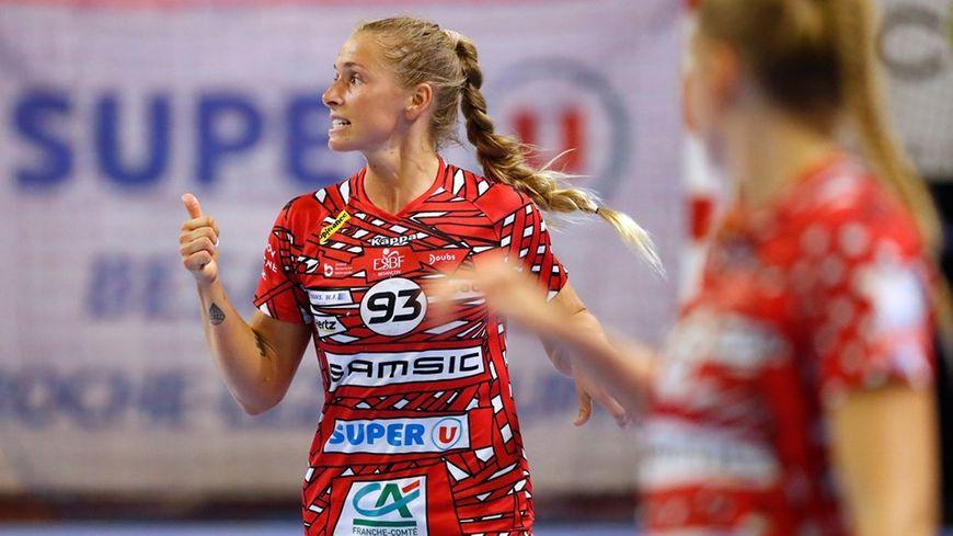 Ça passe pour l'ESBF et sa Danoise Line Uno en Coupe d'Europe : les handballeuses de Besançon seront bien au 3e tour de la Coupe EHF en novembre 2019