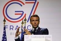 Emmanuel Macron durant le G7, Biarritz