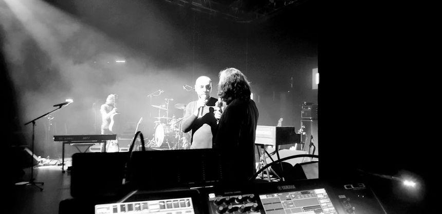 Lhomé a fait la première partie du concert.