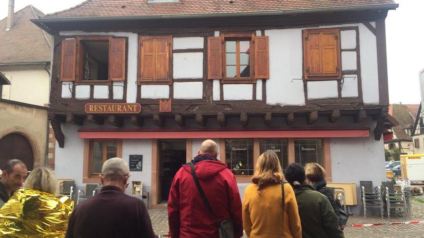 Le restaurant, La Mosaïque, à Bergheim