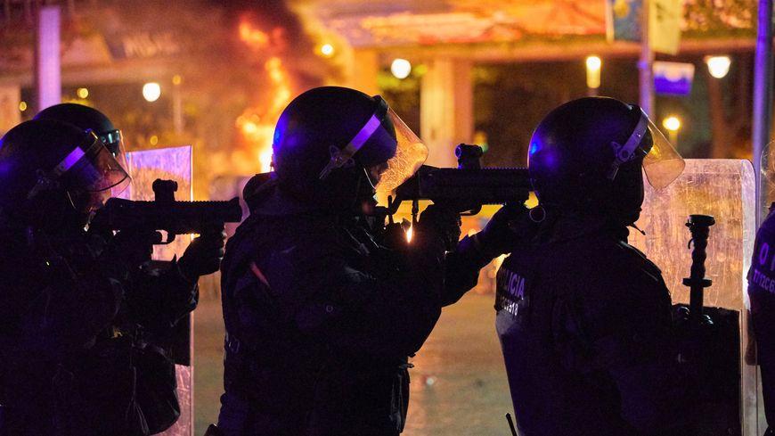 Des émeutes dans le centre de Gérone