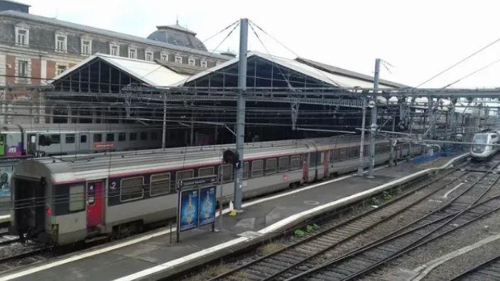 La gare Toulouse-Matabiau (illustration)