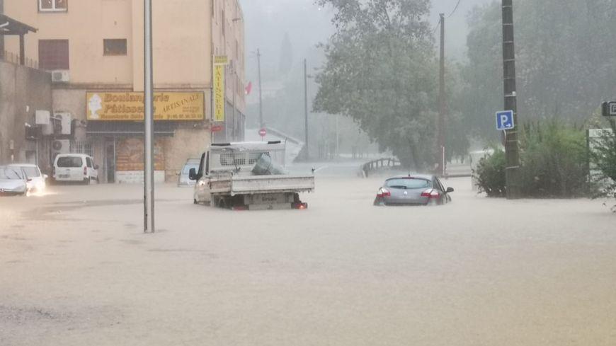 D'importantes inondations ont touché le département de l'Hérault ce mercredi.