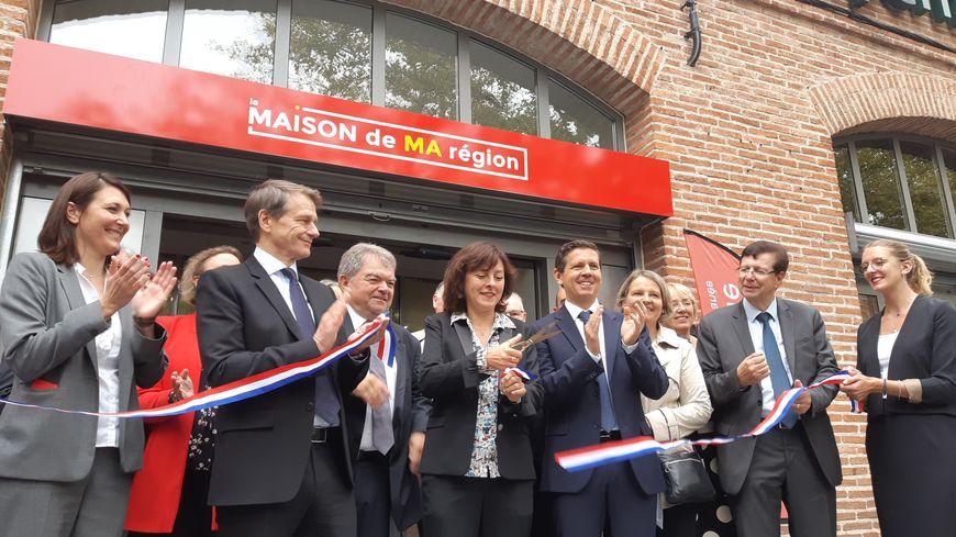"""""""La Maison de ma Région"""" inaugurée ce vendredi 4 octobre à Albi boulevard des Lices Pompidou."""