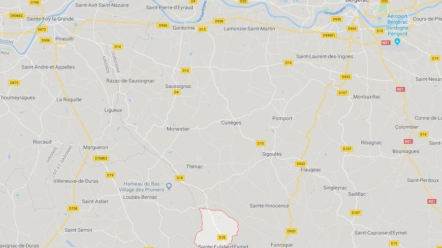 Le corps a été découvert ce dimanche 27 octobre. Capture d'écran Google Maps