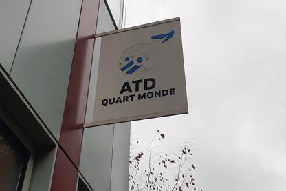 Au siège d'ATD quart monde à Montreuil