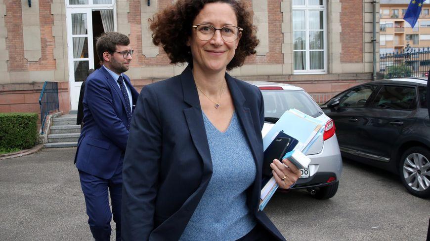 La secrétaire d'Etat à l'écologie Emmanuelle Wargon