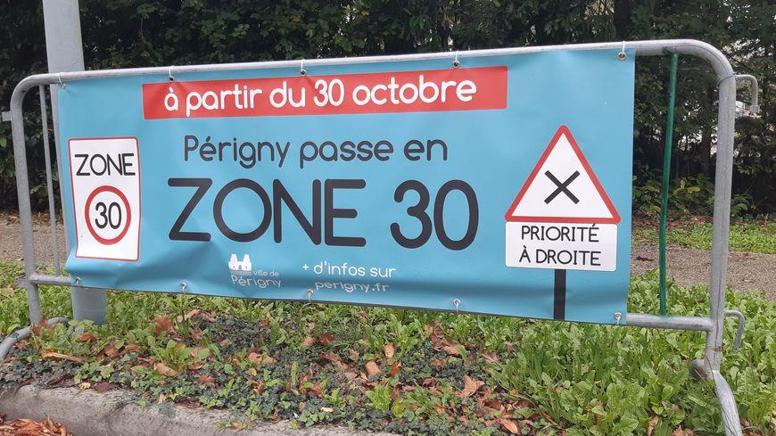 Périgny en zone 30