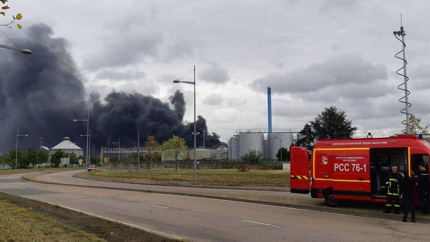 L'incendie du 26 septembre a touché Lubrizol et Normandie Logistique