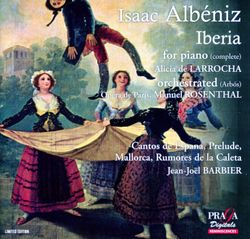 Iberia suite : Cahier I : El puerto - suite pour orchestre d'après les pièces pour piano