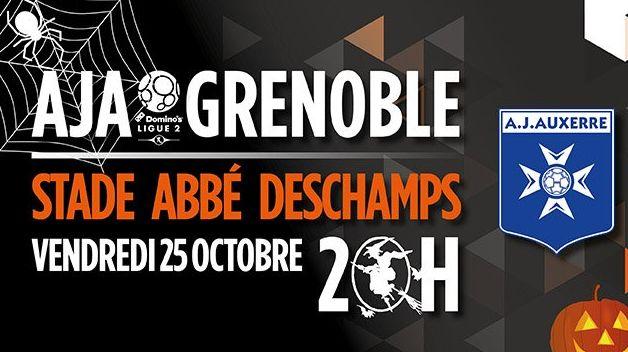 Billet gratuit pour le match AJA-Grenoble pour toutes les personnes qui viendront déguisées.