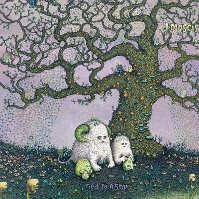"Pochette de l'album ""Tied to a star"" par J Mascis"