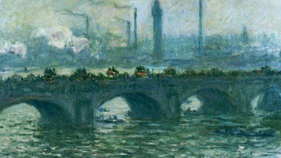Pont de Waterloo à Londres (1903) Claude Monet