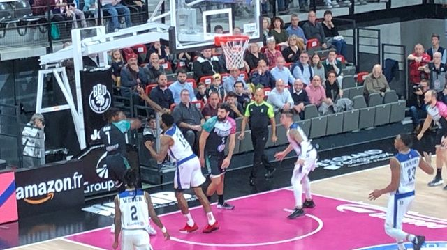 Boulazac face à Boulogne Levallois