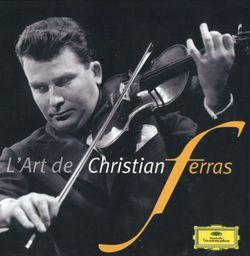 Sonate en La Maj M 8 : Allegro - pour violon et piano - CHRISTIAN FERRAS
