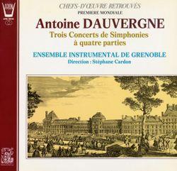 Concert de simphonies en si min op 3 n°3 : Passacaille